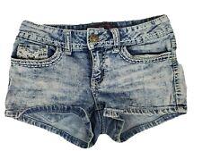 No Boundaries Acid Wash Jean Short Size 3