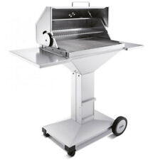 THÜROS T4 Holzkohle Barbecue Station – Grillfläche 40 x 60 cm