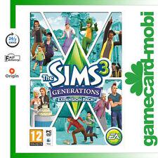 The Sims 3 Generations Add-on PC/Mac Key EA Origin Download Game Code EU UK NEW