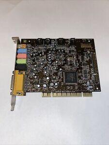 Creative Sound Blaster Live! 5.1, 16BIT, SB0100, PCI Sound Card Vintage Untes
