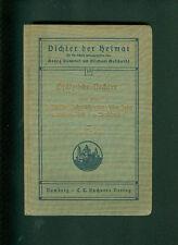 Pfälzische Dichter Zweite Reihe Müller Schmitthenner Stockhausen G. Jakob 1925