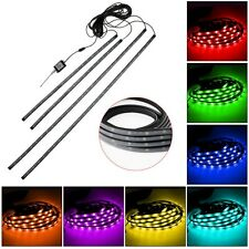 UNDER CAR GLOW NEON LIGHTS 7 COLOURS 18LED STRIP KIT WIRELESS REMOTE CONTROL