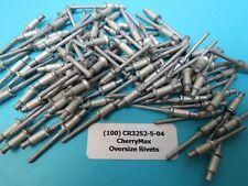 """25 ea CR3212-5-04  Genuine """"Cherrymax"""" Rivets"""