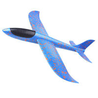 Kinder Wurf Segelflugzeug Glider Flugzeug Spielzeug im Freien   33 x 34 cm