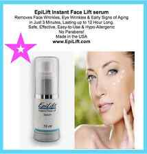 EpiLift 3 Minute Instant Face Lift serum BUY 1 GET 1 FREE SALE Wrinkles Gone