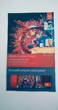 Adobe Creative Cloud (all apps) Prepaid Retail Serial - 1 year
