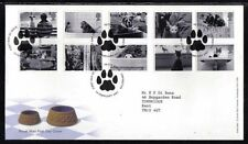 First Day of Issue Cats Decimal Great Britain Stamps