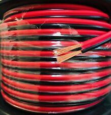 16 Gauge 100 Feet 2 Conductor Copper Clad Power Ground Zip Speaker Wire Stranded