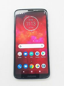 Motorola Moto Z3 Play PA9S0000US - 64 GB - Deep Indigo (Unlocked) *Check IMEI*