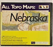 Nebraska iGage All Topo Maps - Surveying Topographic Software (Windows)