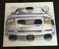 1999 Audi TT Original Dealer Sales Brochure Catalog Prospekt