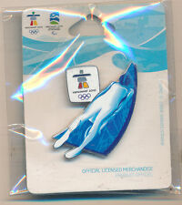 Vancouver 2010 Luge Olympic Pin