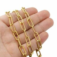Big Thick Chain Width Stainless Steel Cable Chains Findings DIY Jewelry Making