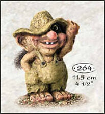 Ny Form Troll figurine - 840264 - Troll with Green Hat