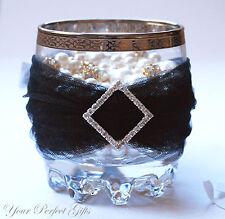 "12 DIAMOND SQUARE 1"" Wedding Rhinestone Invite Buckles"