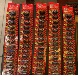 1997 Racing Champions Lot of 67 NASCAR 1/64 Diecast Cars New Gordon
