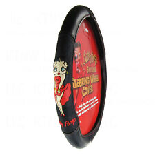 New Betty Boop Classic Red Dress Universal Fit Car Truck Steering Wheel Cover