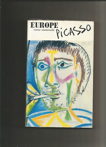 Europe revue picasso n°492-493