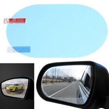 2x Oval Car Auto Anti-Fog Rainproof Rearview Mirror Protective Film Accessory