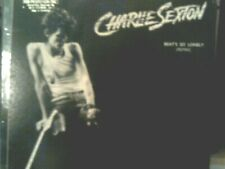"CHARLIE SEXTON 12"" single  BEAT'S SO LONELY 1986 w/ Monster Dub"