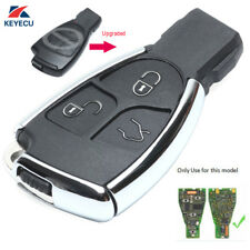Modified Smart Remote Key Shell Case Fob 3 Button for Mercedes-Benz CLS C E S