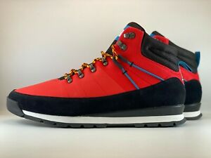 The North Face Back-To-Berkeley Mid Hiking Boots Size 10 Fiery Red/ TNF Black