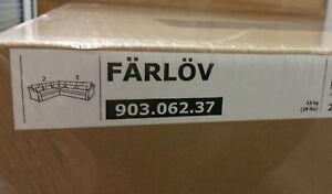 IKEA Farlov 5 Seat Sofa Right Sectional SLIPCOVER Djuparp Dark Gray Corner COVER