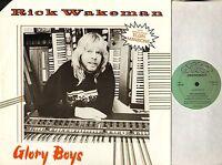 """RICK WAKEMAN (OF YES) glory boys 12 WAKE 1 uk tbg 1984 12"""" PS EX/EX deletion"""