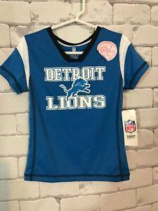 Detroit Lions Girls Football Jersey - Size S 6/6X