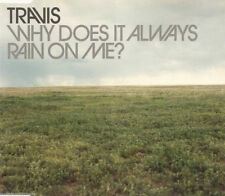 TRAVIS WHY DOES IT ALWAYS RAIN ON ME CD2 3 TRACK CD SINGLE VG+/VG+