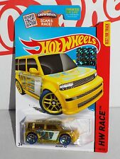 Hot Wheels Factory Set 2015 X-Raycers Series #144 Scion xB Yellow w/ Y5s