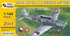 Mark I Models 1/144 Model Kit 14460 Avia/Letov C-2/Arado Ar-96B Silver Livery