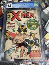 X-Men  3 CGC 4.5 First appearance of The Blob 🔥 🔑