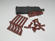 Lego ® Pirates Lot Armes Canon + 5 Fusil + 5 Pistolet Gun 2527 2561 2562 NEW