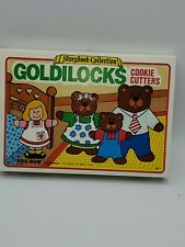 Vintage Fox Run 1986 Goldilocks Storybook Collection Cookie Cutters #3621