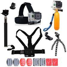 GoPro Accessories Kit Action Camera Accessory set Bundle Head Mount Chest Strap