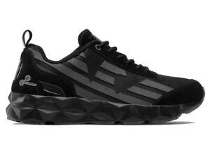 Emporio Armani X8X033 XK162 C2 Mens Trainers Black EA7 Shoes Sneakers