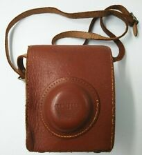 Vintage Leather Argus Camera Case With Adjustable Strap Made in USA