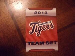 2013 CONNECTICUT TIGERS Choice Single Cards YOU PICK FROM LIST $1-$3 each OBO
