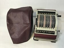 Resulta 9 Vintage Mechanical Calculator De Luxe Quiet German Adding Machine