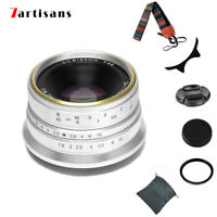 7artisans 25mm F/1.8 Lens Compact Canon EF-M EOS-M Mount M1 M5 M6 M10 M50 Camera