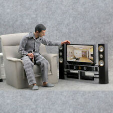 "1:6 TV DVD Speaker Set Barbie Plastic Model Home Theater Fits 12"" Figure doll"