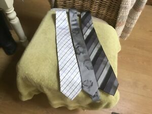 MENS TIES IN EXCELLENT CONDITION X 3. INCLUDES NEXT & JEFF BAKER