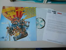 LP OST Police Academy 4 : Citizens On Patrol (10 Song) MOTOWN / RCA + Presskit