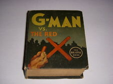 G-Man vs. The Red X, Big Little Book BLB #1147, 1936, Whitman, Fine-!