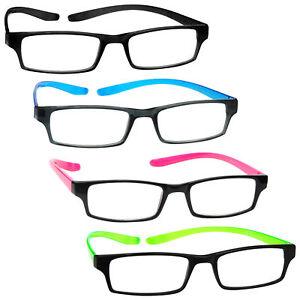 Neck Specs Long Arm Reading Glasses Mens Womens UV Reader R20