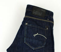 G-Star Brut Hommes Porter Jeans Jambe Droite Taille W30 L34 AFZ586