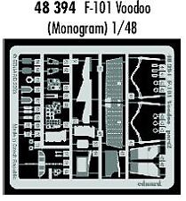 Eduard 1/48 f-101 Voodoo Etch for Revell and Monogram Kit # 48394 *