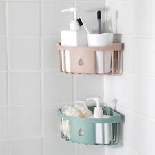 Traceless Triangle Bathroom Shelves Shower Corner Shelf Basket Organi_es