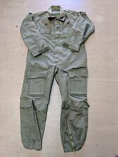 Original British Army Issue Olive Green AFV FR Coverall Suit Size 170/96 UK